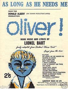 Lionel Bart - Songwriter